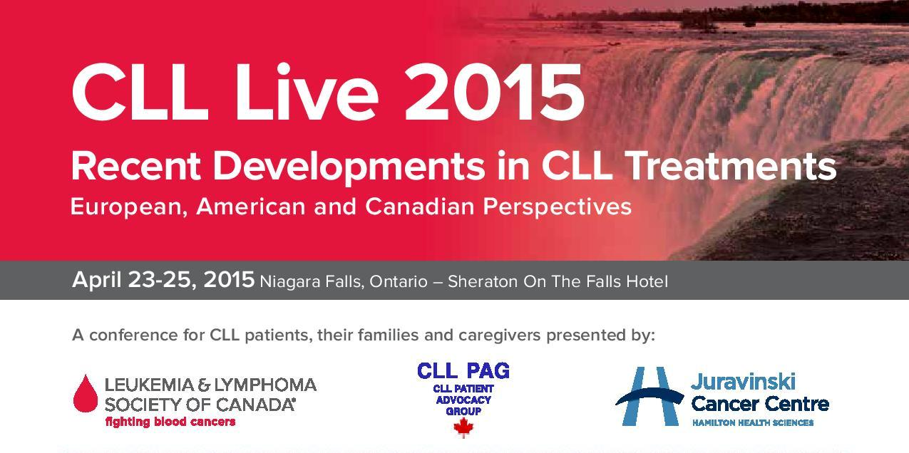 CLL Live 2015 visual